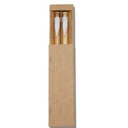 kit Caneta e Lapiseira de Bambu 14334